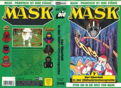 M.A.S.K. M.A.S.K. VHS cassette 07 Germany