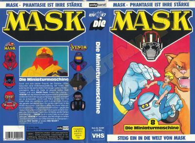 M.A.S.K. M.A.S.K. VHS cassette 08 Germany