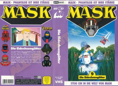 M.A.S.K. M.A.S.K. VHS cassette 09 Germany