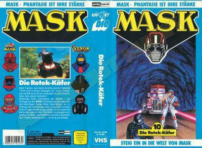 M.A.S.K. M.A.S.K. VHS cassette 10 Germany