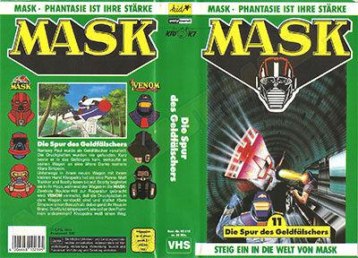 M.A.S.K. M.A.S.K. VHS cassette 11 Germany