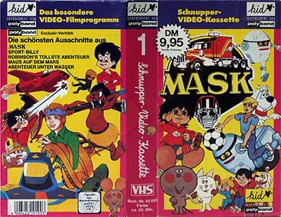 M.A.S.K. M.A.S.K. VHS Promo cassette Germany