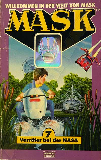M.A.S.K. M.A.S.K. Book Germany no. 7 Verräter bei der NASA