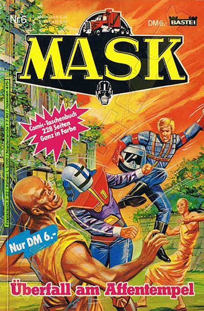 M.A.S.K. M.A.S.K. Comicbook Germany no. 6 Überfall am Affentempel