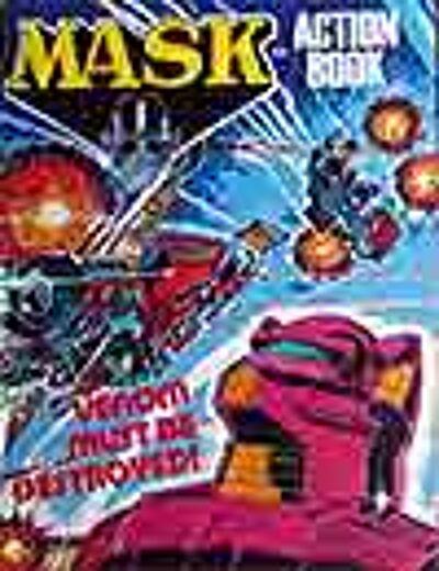 M.A.S.K. M.A.S.K. Action Book venom must be destroyed