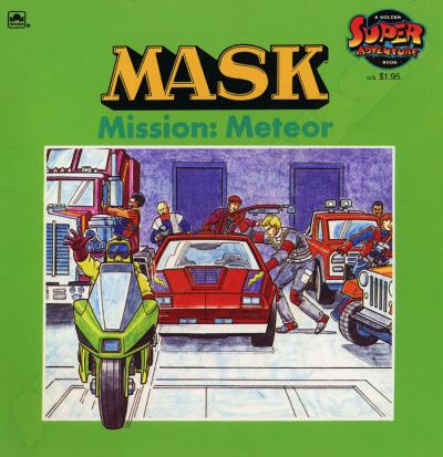 M.A.S.K. M.A.S.K. US Book Mission Meteor