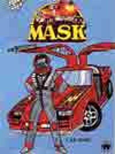 M.A.S.K. M.A.S.K. US Book Car Wars
