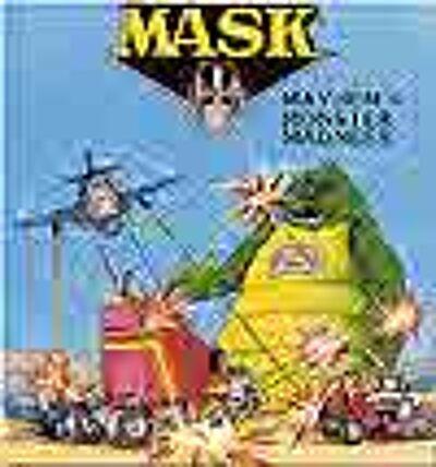 M.A.S.K. M.A.S.K. US Book Mayhems monster madness