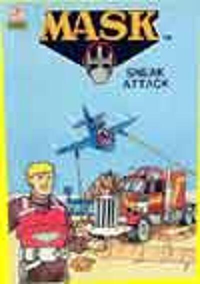 M.A.S.K. M.A.S.K. US Book Sneak attack