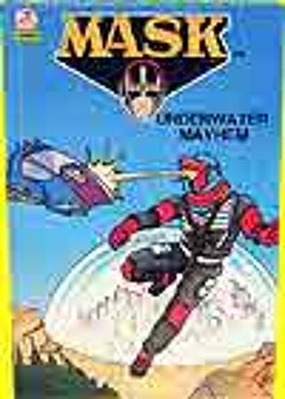M.A.S.K. M.A.S.K. US Book Underwater Mayhem