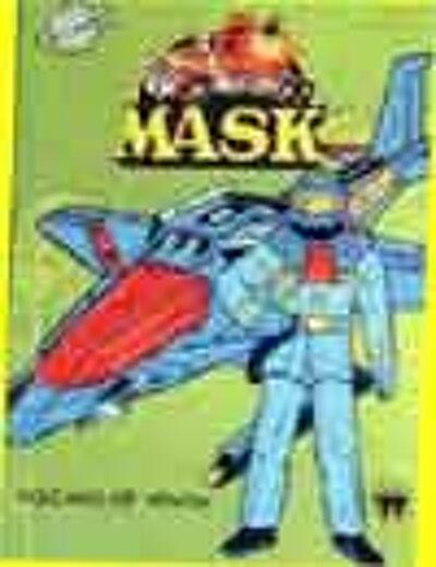 M.A.S.K. M.A.S.K. US Book VOLCANO OF VENOM