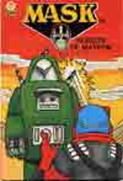 M.A.S.K. M.A.S.K. US Book Robots of Mayhem