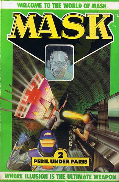 M.A.S.K. M.A.S.K. US Book no. 2 Peril under Paris