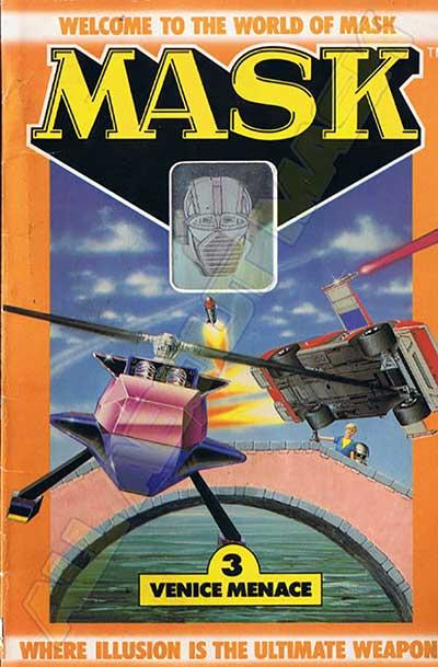M.A.S.K. M.A.S.K. US Book no. 3 Venice Menace