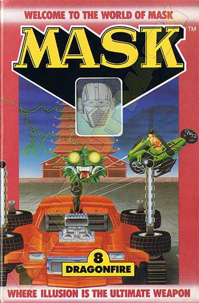M.A.S.K. M.A.S.K. US Book no. 8 Dragonfire