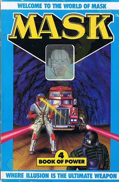 M.A.S.K. M.A.S.K. US Book no. 4 Book of power