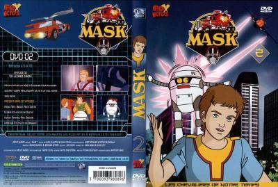 M.A.S.K. M.A.S.K. DVD Cover french disc 02 first edition