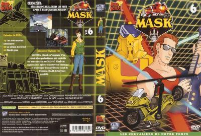 M.A.S.K. M.A.S.K. DVD Cover french disc 06