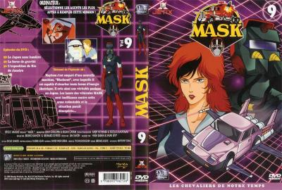 M.A.S.K. M.A.S.K. DVD Cover french disc 09