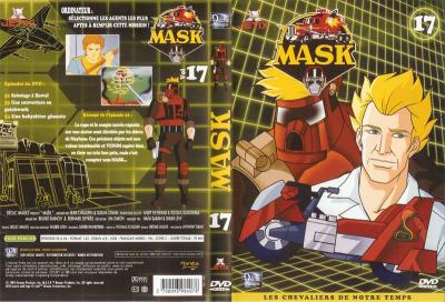 M.A.S.K. M.A.S.K. DVD Cover french disc 17