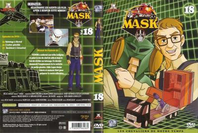 M.A.S.K. M.A.S.K. DVD Cover french disc 18
