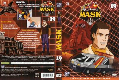 M.A.S.K. M.A.S.K. DVD Cover french disc 19