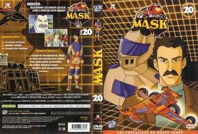 M.A.S.K. M.A.S.K. DVD Cover french disc 20