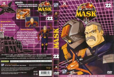 M.A.S.K. M.A.S.K. DVD Cover french disc 22