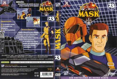 M.A.S.K. M.A.S.K. DVD Cover french disc 23