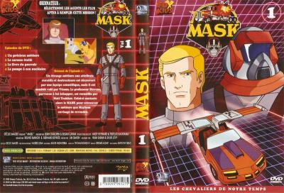 M.A.S.K. M.A.S.K. DVD Cover french disc 01
