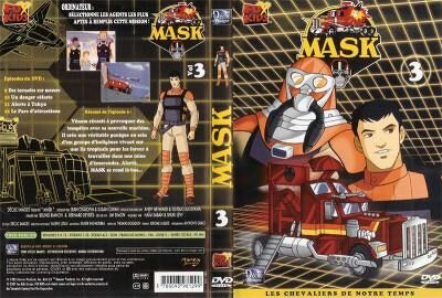 M.A.S.K. M.A.S.K. DVD Cover french disc 03