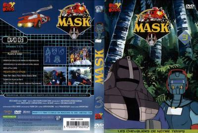 M.A.S.K. M.A.S.K. DVD Cover french disc 03 first edition
