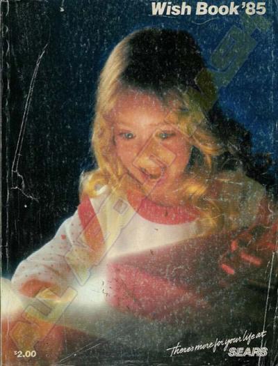 M.A.S.K. SEARS Wish Book 1985