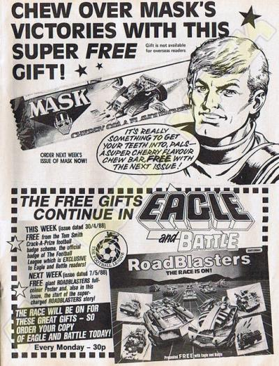M.A.S.K. M.A.S.K. free Chew Bar UK