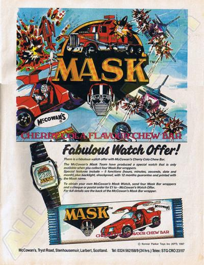 M.A.S.K. M.A.S.K. win a watch UK