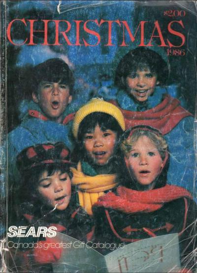 M.A.S.K. SEARS Christmas 1986 Canada