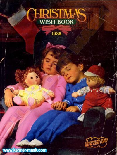 M.A.S.K. SEARS Wish Book 1986