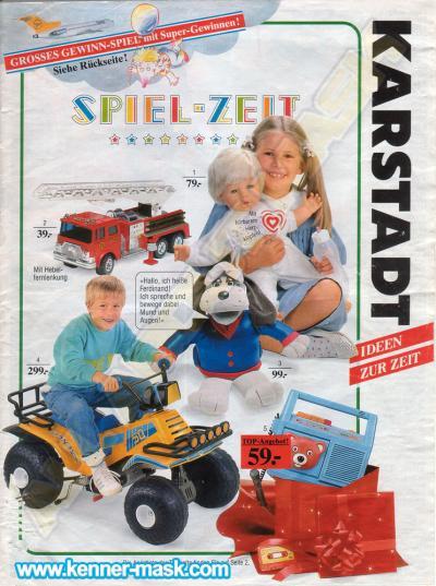 M.A.S.K. Karstadt 1987 Germany