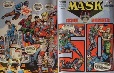 M.A.S.K. M.A.S.K. UK comic No. 50 - 26/03/1988