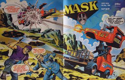 M.A.S.K. M.A.S.K. UK comic No. 57 - 14/05/1988