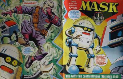 M.A.S.K. M.A.S.K. UK comic No. 65 - 09/07/1988