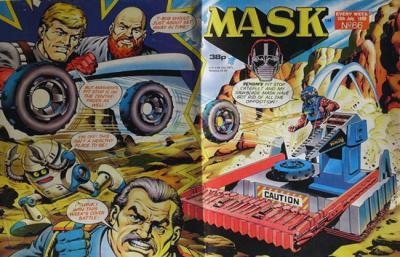 M.A.S.K. M.A.S.K. UK comic No. 66 - 16/07/1988