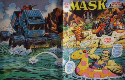 M.A.S.K. M.A.S.K. UK comic No. 68 - 30/07/1988