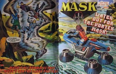 M.A.S.K. M.A.S.K. UK comic No. 69 - 06/08/1988