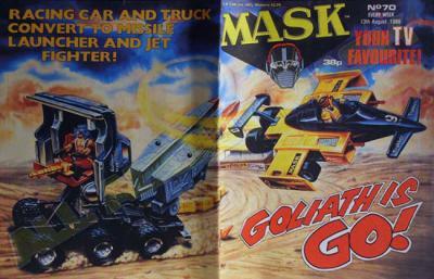 M.A.S.K. M.A.S.K. UK comic No. 70 - 13/08/1988