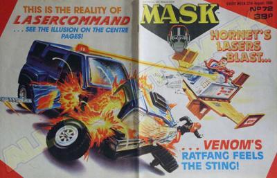 M.A.S.K. M.A.S.K. UK comic No. 72 - 27/08/1988