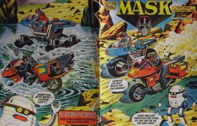 M.A.S.K. M.A.S.K. UK comic No. 75 - 17/09/1988