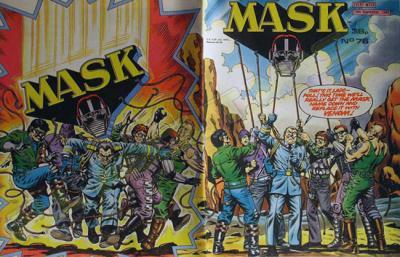 M.A.S.K. M.A.S.K. UK comic No. 76 - 24/09/1988
