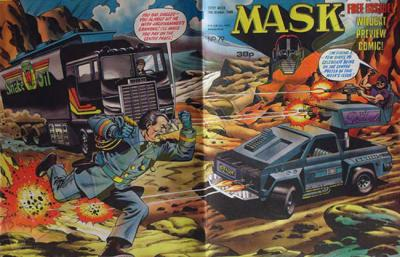 M.A.S.K. M.A.S.K. UK comic No. 79 - 15/10/1988
