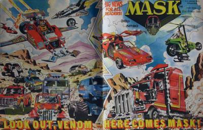 M.A.S.K. M.A.S.K. UK comic No. 80 - 22/10/1988